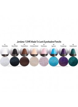 Jordana 12HR Made to Last Eyshadow Pencil All Colors