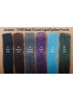 Jordana 12HR Mtl Liquid Pencil All Colors