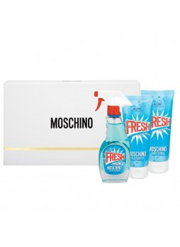 Moschino Fresh Cauture Edt 100ml+Shawer Gel 100ml+Body Lotion 100ml Set