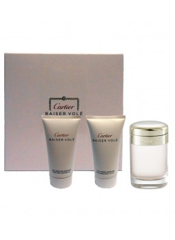 Cartier Baiser Vole Edp 50ml+Body Lotion 50ml+Shawer Gel 50ml Set