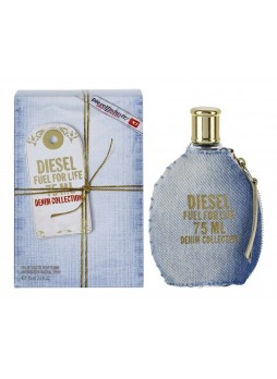 Diesel Fuel For Life Denim Collection Women Edt 75ml