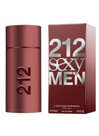 Carolina Herrera 212 Sexy Man Edt 100ml