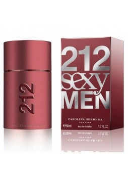 Carolina Herrera 212 Sexy Man Edt 50ml